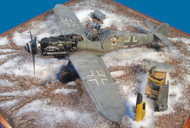 Messerschmitt Bf 109G-6 by Francois Maheux (Hasegawa 1/48)