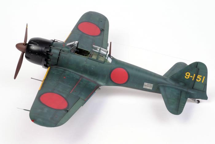 Tamiya's 1/48 scale Mitsubishi A6M5 Zero by Brett Green