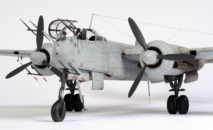 Tamiya 1/48 scale Heinkel He 219 by Chris Wauchop