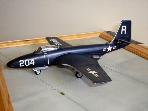 Air Hawk Compressor >> F2H-1 Banshee by Tony Prince (Testor / Hawk 1/48)