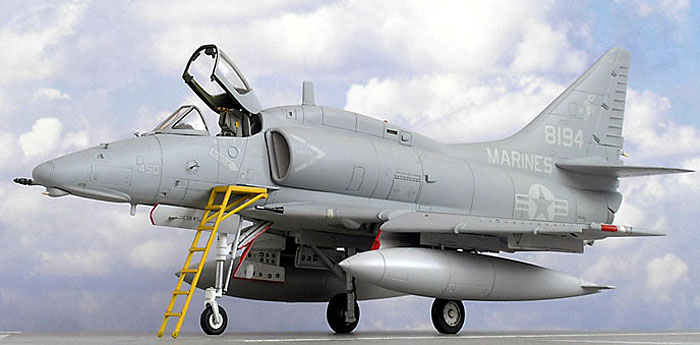 a 4m marine skyhawk by bob aikens hobbycraft 1 48. Black Bedroom Furniture Sets. Home Design Ideas