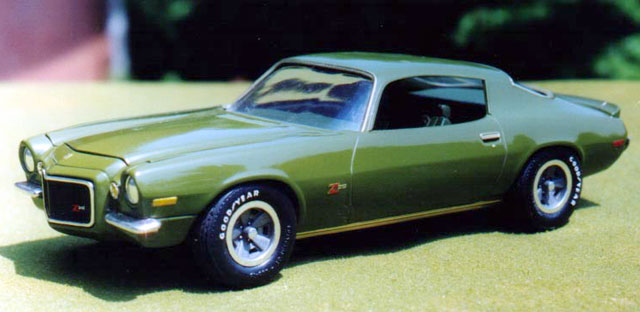 1970 Camaro Z/28 by Steve Messner (AMT