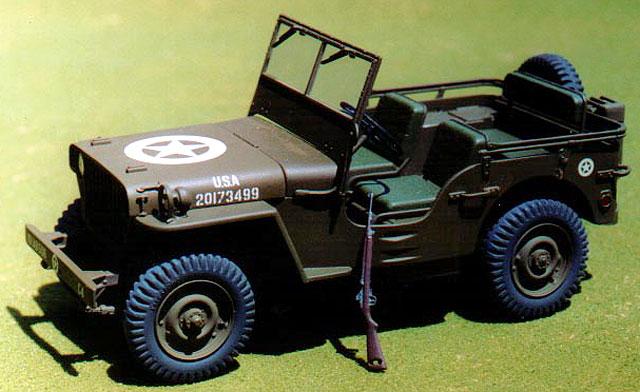 Willys Mb Jeep By Steve Messner Testor Italeri 1 24